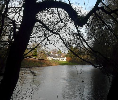 River Ayr at Failford 15Nov08