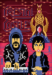 Crystal Castles (Jude Buffum) Tags: illustration graphicdesign nintendo sprite retro videogames gaming pixel 8bit crystalcastles judebuffum