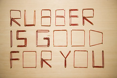 good/ rubber (好/膠)
