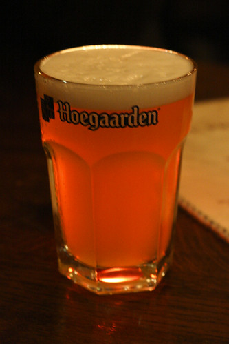 Backlit Hoegaarden