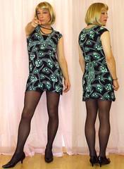 sub n dom twins (gillian .) Tags: tv dress dom cd sub transgender mature transvestite crossdresser ts tg adamandeve minidress trannie