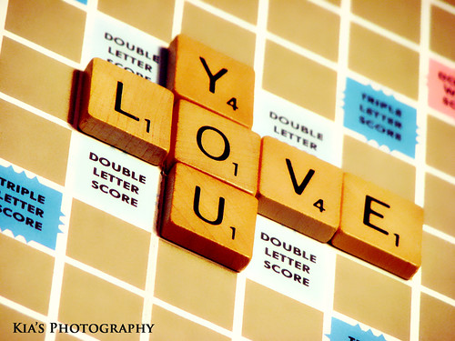Scrabble Love you