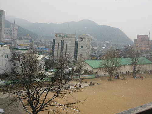 Banwol Elementary in the Snow