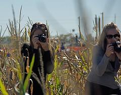 Heath & Holls (dbkfrog) Tags: canon nikon pentax heather holly iphoto paparazzi flickrexport2demo