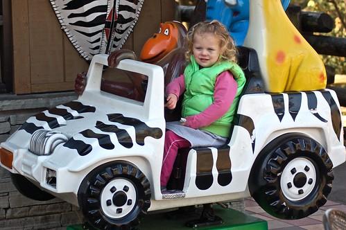 Nina driving