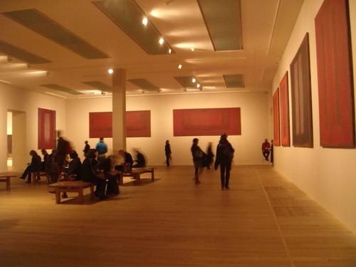 Rothko big room at the Tate