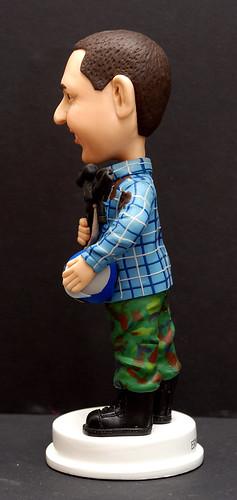 fully customised 3D caricature figurine angle  2