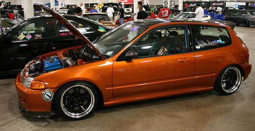 copper honda civic eg hatch