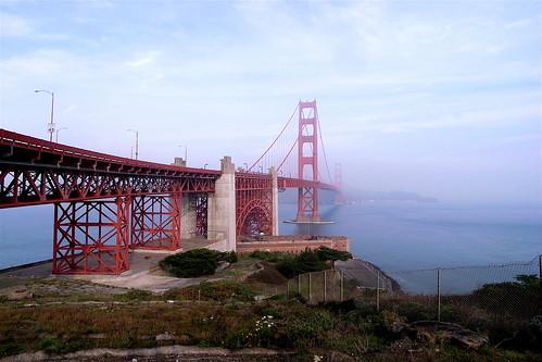 Golden Gate Bridge - Wide Angle