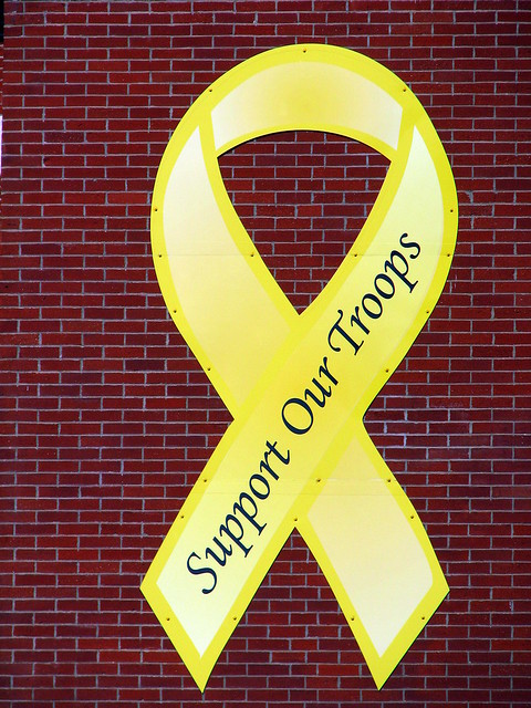 Really, really large support ribbon