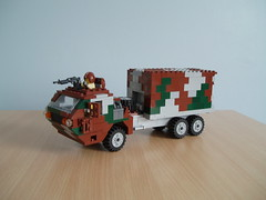Alpha Company M6 Crusader (Mad physicist) Tags: truck army lego military camo camouflage truc alphaforums m6crusader