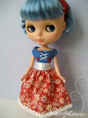 blue Fairy Tale dress