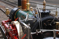 Eagles Cockpit (fotopusch) Tags: germany eagle nuremberg adler engine eisenbahn railway historic steam nrnberg lokomotive lok historisch dampf
