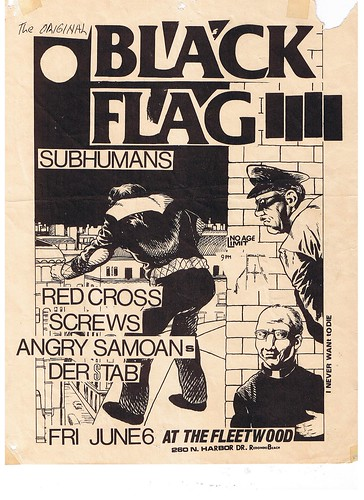 Black Flag at the Fleetwood 1980