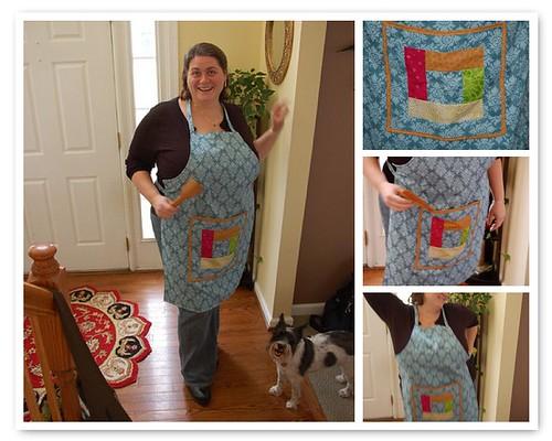 Sarah's apron