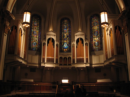 Organ at St. James