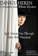 """In deze voorstelling komen vijf vrouwen aan het woord die een belangrijke rol hebben gespeeld in het leven van de schrijver Willem Elsschot, reclameman, bourgeois en rokkenjager. Iedere vrouw vertelt haar eigen verhaal, gevoelens en overtuiging, met humor, eerlijk, recht voor zijn raap en authentiek.  Het traditionele beeld van de beroemde romancier wordt omvergeworpen. Er ontstaat een verrassend ander beeld van de schrijver, nu gezien vanuit het gezichtsveld van vrouwen uit zijn directe omgeving. Hoe zag hij hen en hoe zagen zij zichzelf? Dan blijkt dat er tussen schijn en werkelijkheid een grote discrepantie bestaat. Of om met de woorden van Elsschot zelf te spreken: """"Tussen droom en daad staan wetten in de weg en praktische bezwaren""""."""