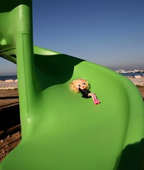 Val and children's slide
