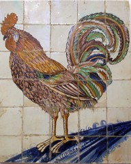 GoudaMuseum Rooster Tiles