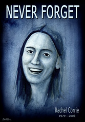 My Name is Rachel Corrie (Ben Heine) Tags: life blue portrait woman usa art smile wall youth watercolor painting paper dead death israel remember theatre accident palestine traditional journal protest middleeast censorship jeunesse caterpillar caricature brave humanrights neverforget sourire bulldozer struggle neveragain idf gazastrip rachelcorrie inmemoriam censure courage ism cause superwoman internationalsolidaritymovement peaceactivist petersquinn benheine jamaisplus rachelcorrieorg foundationforpeaceandjustice rachelswords womanhero