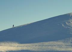 climbing higher mountains... (Blue Spirit - heart took control) Tags: mountain snow neve belluno salita veneto nevegal abigfave prenderelaseggiovianoeh scialpinista