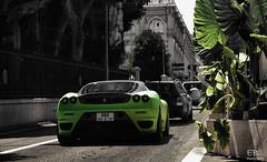 Ferrari F430 Novitec Rosso *Explored* (EB.Photography) Tags: summer black france colour green london nikon cannes limegreen sigma montecarlo bin arabic explore f 28 carlo monte lime rrr 1770 2008 tu nero scuderia matte selective rashid 430 ajman humaid principaute d80 ebphotography matzwart matgroen