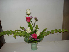 Arrangement by Mrs. Gloria Alvaranga, Ohara School