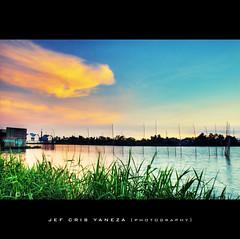 Gone Fishing (1.1) (jef cris) Tags: sunset sky clouds canon landscape dusk philippines hdr fishpond manfrotto gonefishing photomatix polestar tonemapped anawesomeshot niksoftware mcarthurhighway pkchallenge adobephotoshopcs4 akrho meycauayanbulacan jefcrisyaneza coloreffexpro30 platinumpeaceaward tripoded canonkitlens1855mmf3556