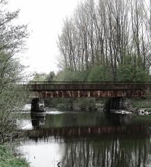 Rur-Brücke, Düren 25.04.2010 - by charlieh0tel