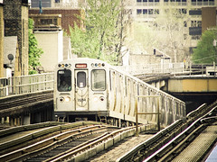 from down under (neur0tica) Tags: urban usa chicago public station train illinois cta el transportation portfolio redline armitage chicagotransitauthority chicagoist