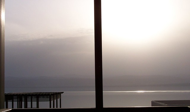 Dead Sea Sunset From Patio