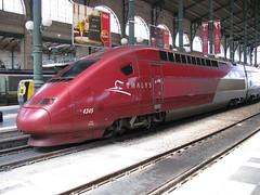 SNCF Thalys PBKA set no. 4345, Paris Nord (bindonlane) Tags: tgv sncf thalys sociéténationaledescheminsdeferfrançais parisgaredunord thalyspbka
