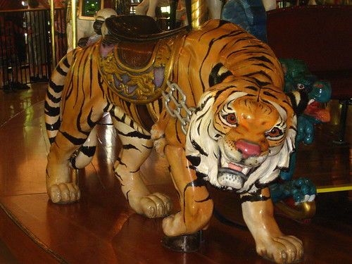 tiger, looff carrousel