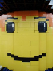 keep smiling =) (Tobias Buckdahn | Brickup.de) Tags: sculpture model gesicht lego head skulptur figure modell figur pirat kopf