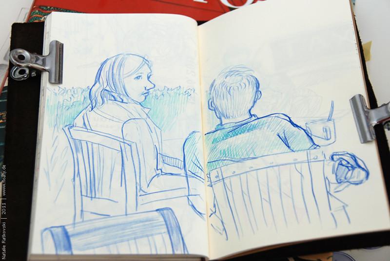 Quickly sketches: café