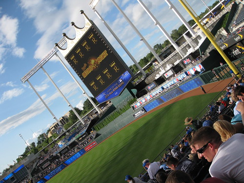 Kauffman Stadium, Home of Kansas City Royals