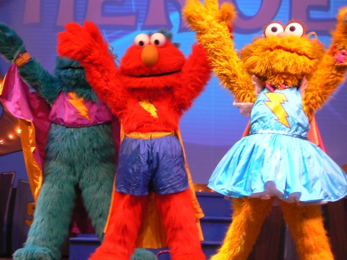 Sesame Street Super Heroes