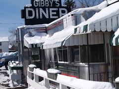 Gibby's Diner 2 (johncarey/) Tags: winter snow ice diner upstatenewyork icicles gibbys