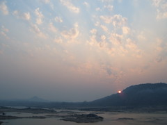Sunrise on the Mekong Thailand
