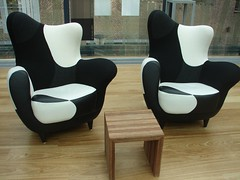 the coolest chairs in a library