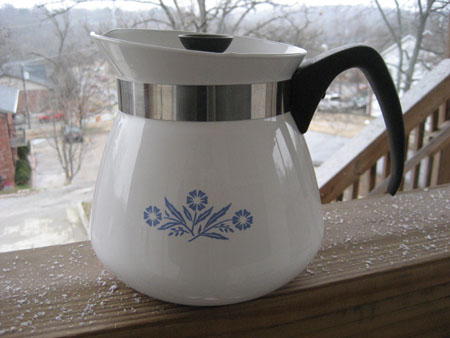 Corning CB Teapot 2 Quart