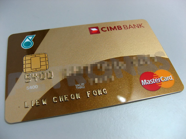 CIMB Petronas MasterCard Gold Credit Card