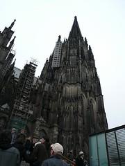 la catedral de Colonia, con sus gargolicas