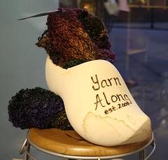 YarnAlong Shoe