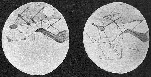 Martian canals depicted by Percival Lowell 1914