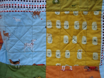 Jenny's Quilt - quilting lines
