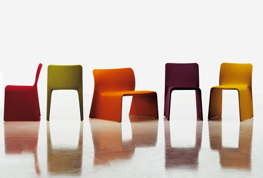 MOLTENI & CO - GLOVE chair by Patricia Urquiola 1