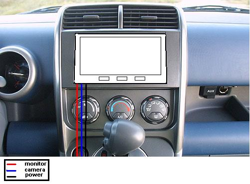Computer SC Center Console Install Diagram - Honda Element Owners ...