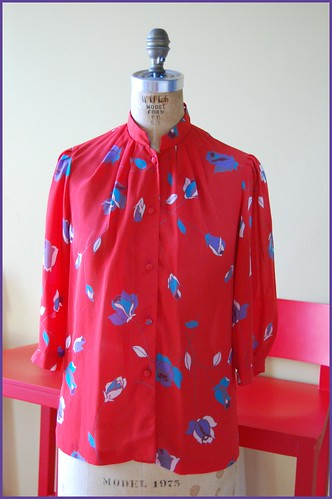 vintage hawaiian blouse