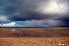 Brasile - Temporale in arrivo (Monica M. ) Tags: sea brazil sky storm beach brasil clouds nikon nuvole mare cielo spiaggia brasile temporale tempesta orizzonte blueribbonwinner supershot d80 flickrsbest theunforgettablepictures sfidephotoamatori goldstaraward tup2 monicamongelli